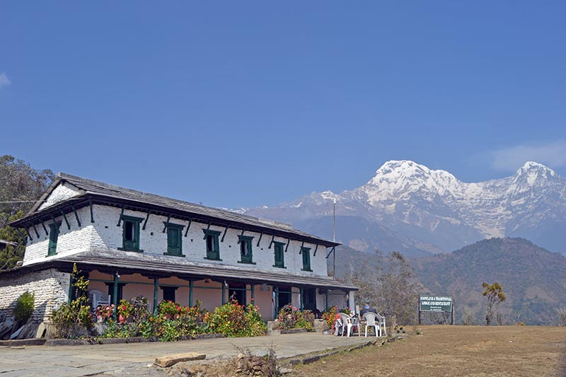 View from Ghandruk during ABC trek