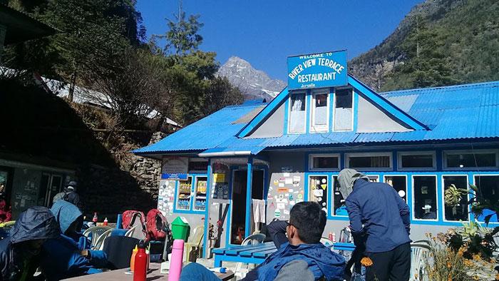 Jorsalle Sagarmatha National Park Entry Point
