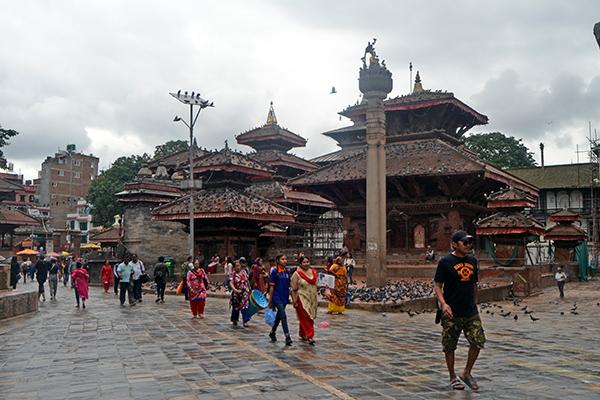 A view of Kathmandu Durbar Square