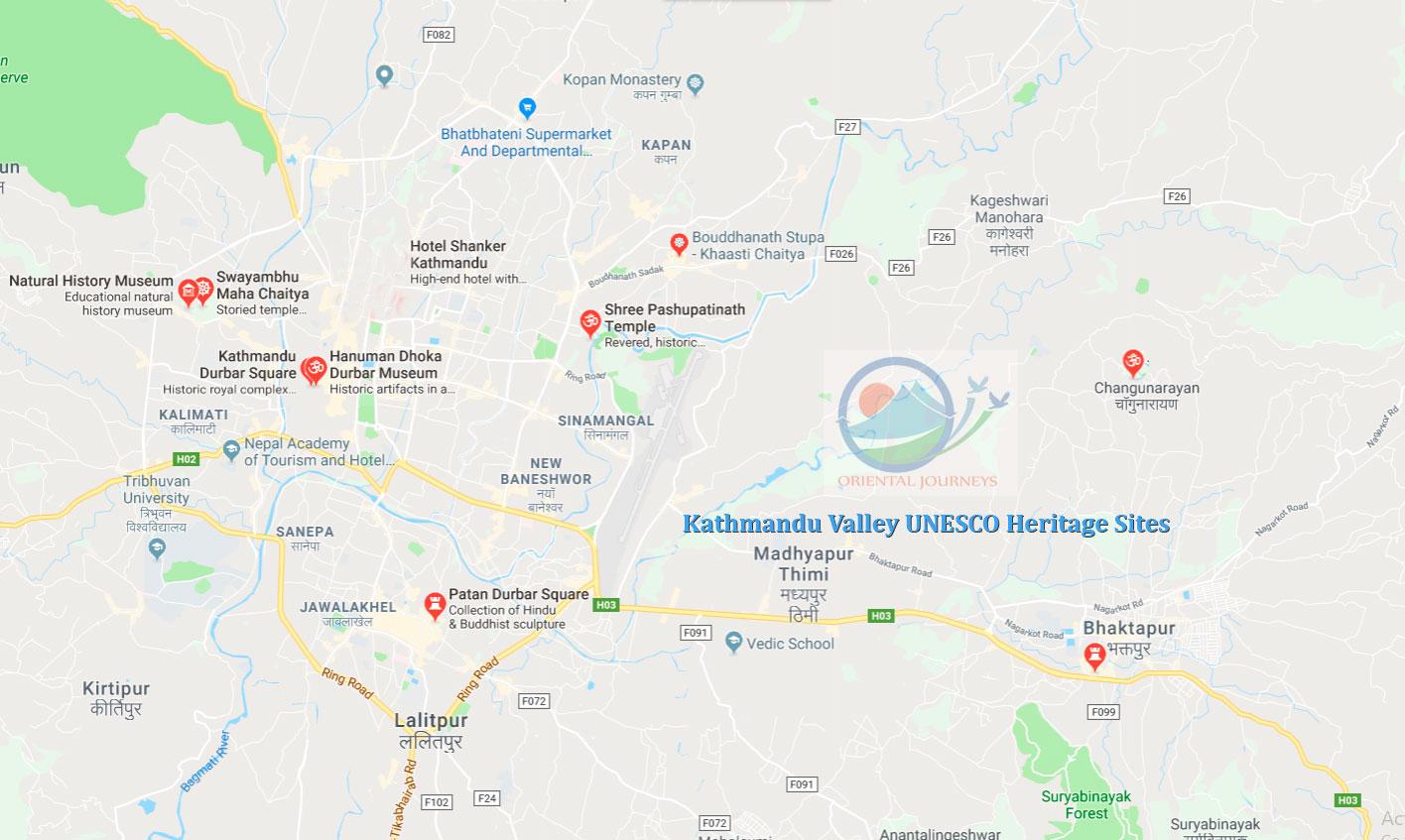 Kathmandu Valley Heritage Sites