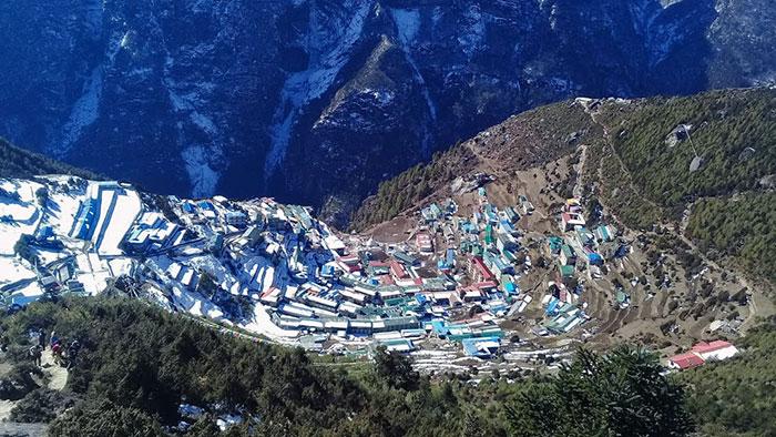 Everest Base Camp Trekking , Namche Bazar