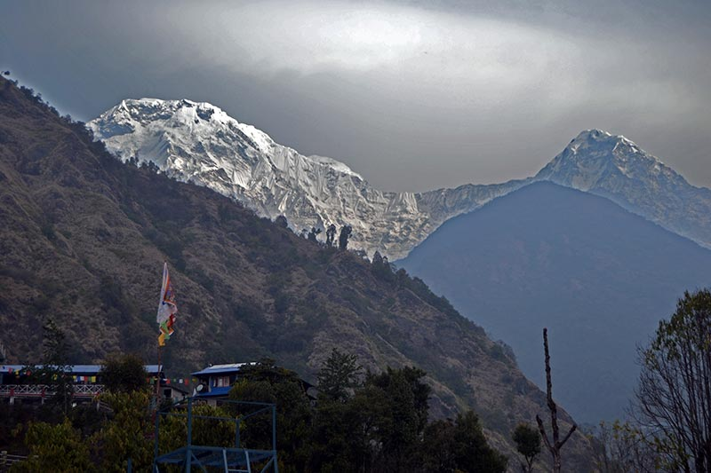 View of Mt. Annapurna