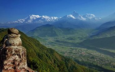 Annapurna range Kathmandu Pokhara Tour