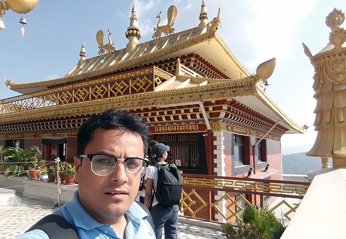 A monastery of Namobuddha