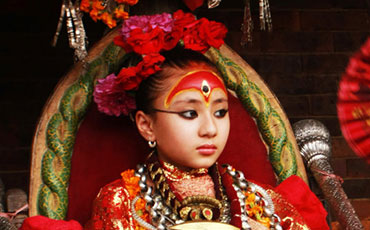 Living Goddess Kumari - Glimpse of Nepal Tour