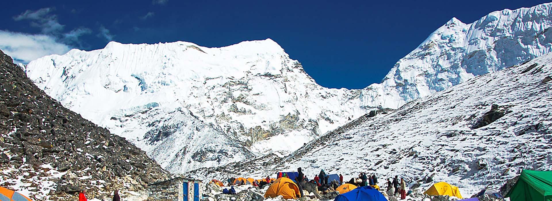 Peak Climbing Nepal- Island Peak Base Camp