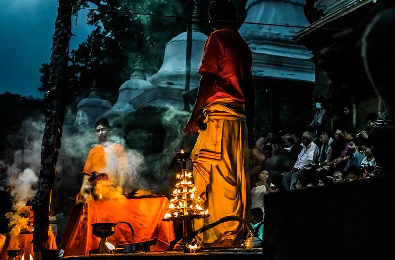 Pashupatinath Evening Prayers - Sandhya Aarati