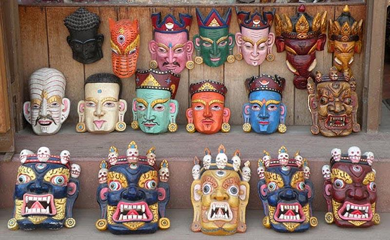 Best Souvenir to take home - Masks