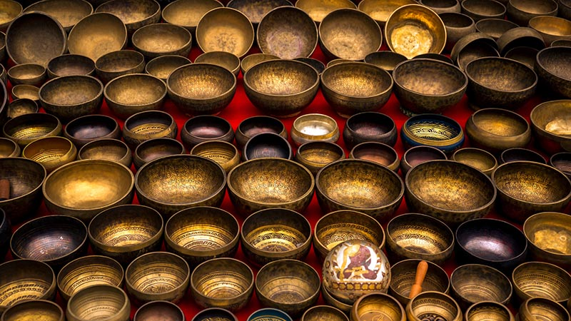Best Souvenir to take home - Singing Bowls