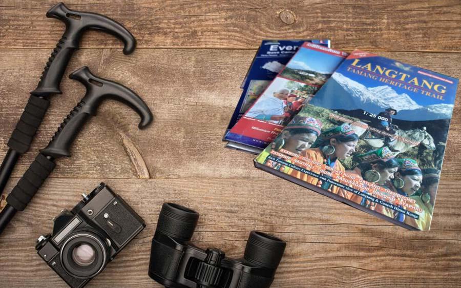 Equipment Checklist - Camera, Binoculars, maps